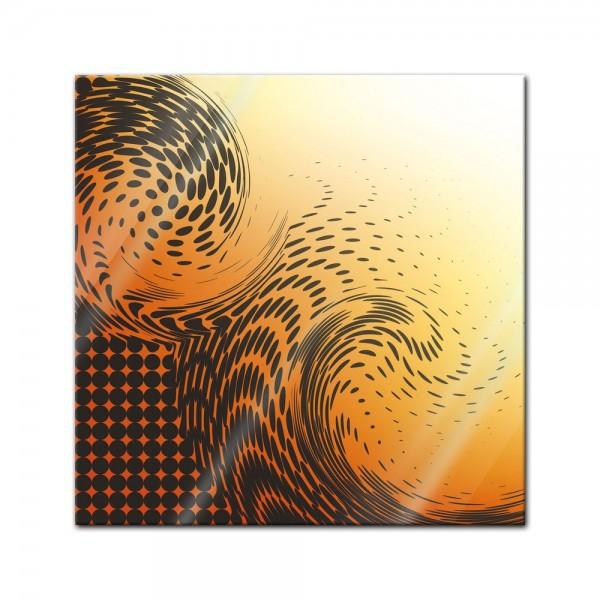 Glasbild - Abstrakte Kunst LVIII