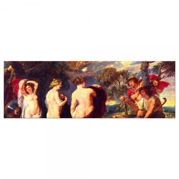 Leinwandbild - Peter Paul Rubens - Urteil des Paris
