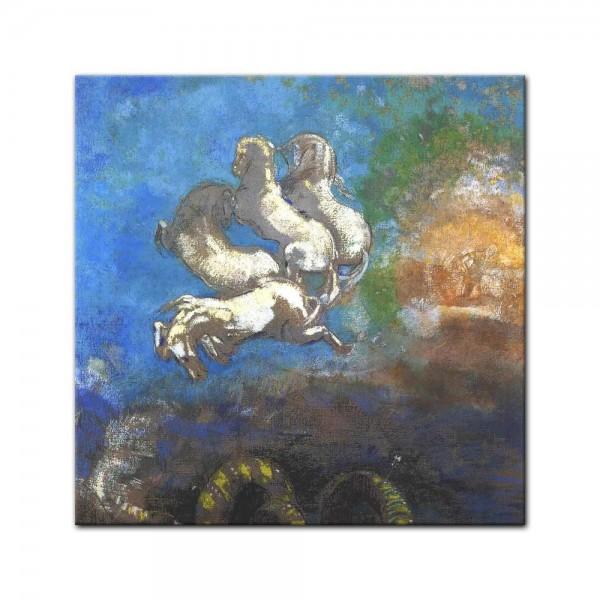 Leinwandbild - Odilon Redon - Der Wagen des Apollos