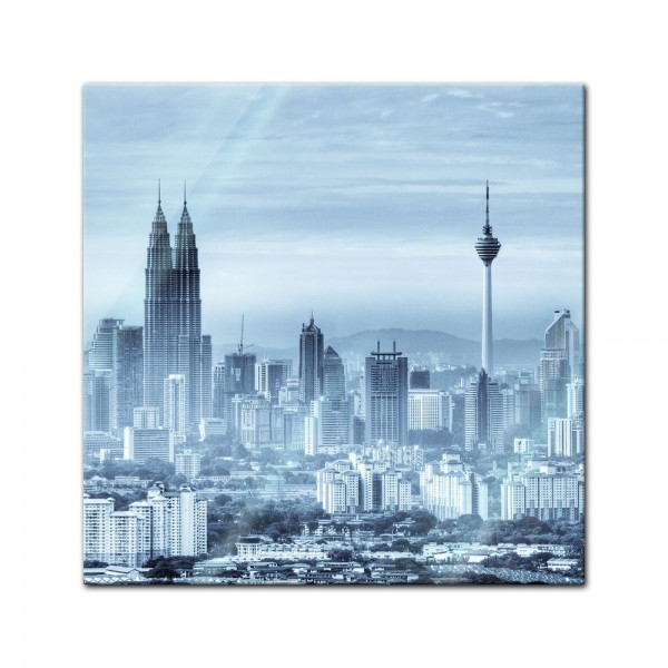 Glasbild - Kuala Lumpur - Malaysia