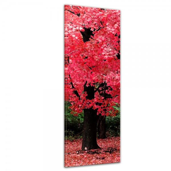SALE Leinwandbild - Herbst Abstrakt - 50x160 cm