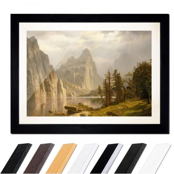 Albert Bierstadt - Merced River Yosemite Valley