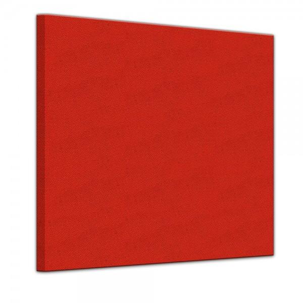 Künstlerleinwand - bemalbare Leinwand in rot - Quadrat