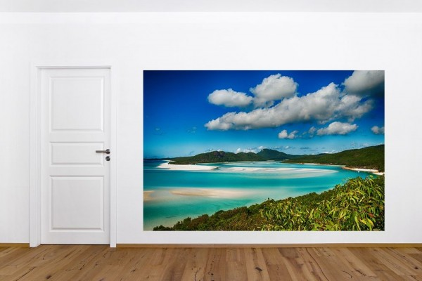 Fototapete Strandlagune im Nationalpark Queensland, Australien