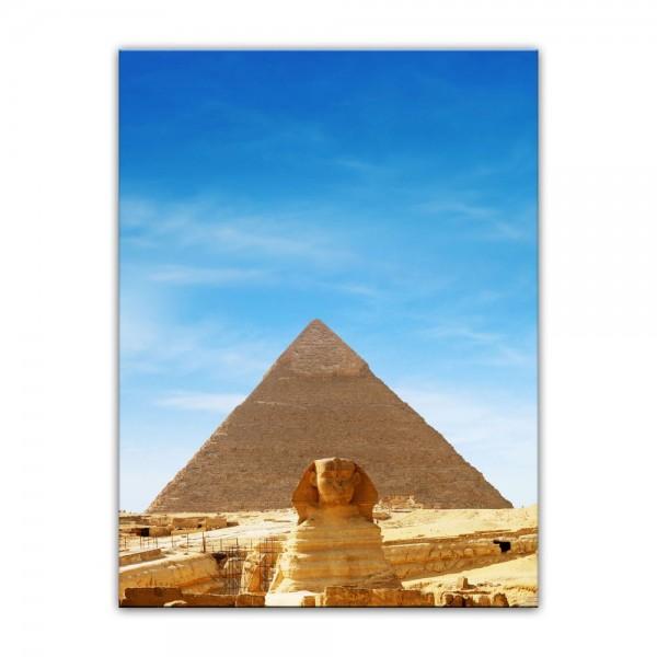Leinwandbild - Ägypten Sphinx