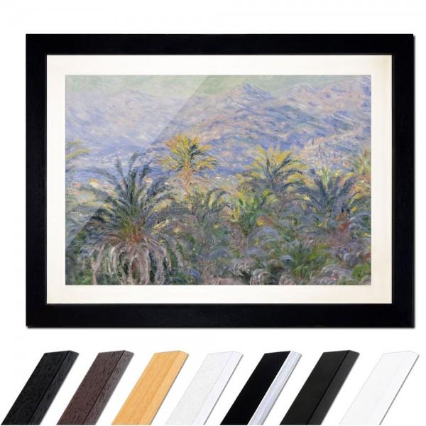 Claude Monet - Palmen in Bordighera