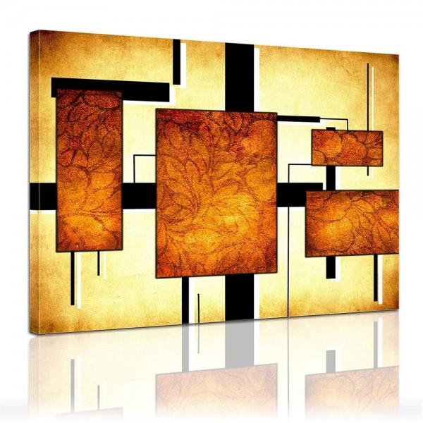 Leinwandbild - Modern Art - Formen