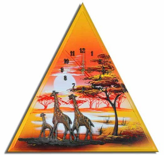 Wanduhr Giraffen F 05
