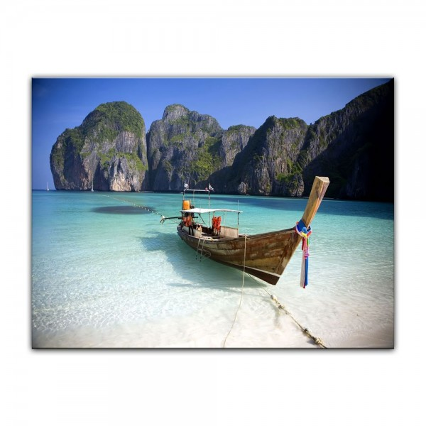 Leinwandbild - Maya Bay, Koh Phi Phi Ley - Thailand