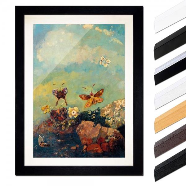 Odilon Redon - Schmetterlinge
