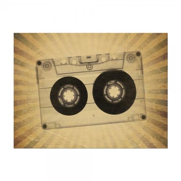 Leinwandbild - Music Old Paper Grunge Vintage II