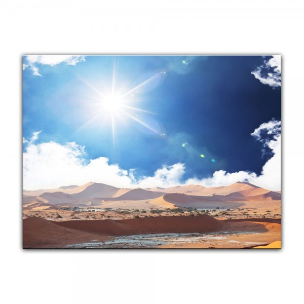 Leinwandbild - Wüstenschein