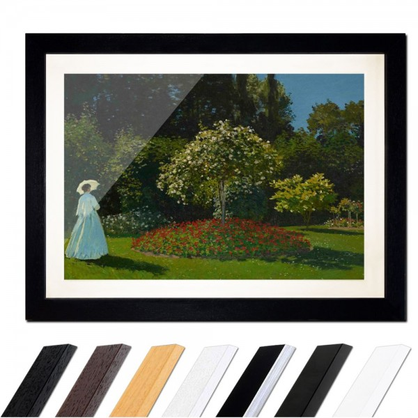 Claude Monet - Frau im Garten