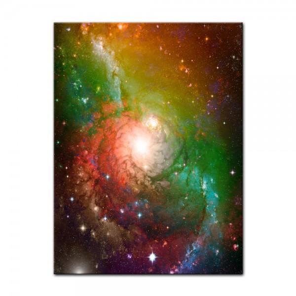 Leinwandbild - Spiral Galaxie II