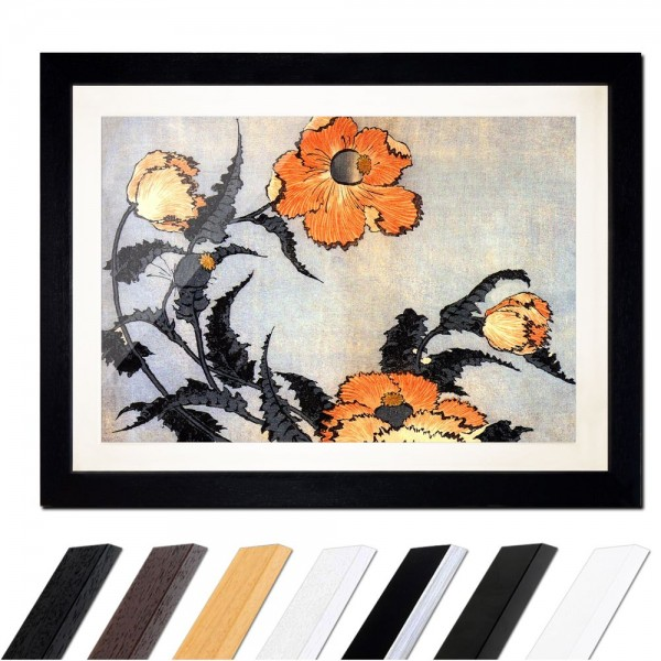 Katsushika Hokusai - Mohnblumen