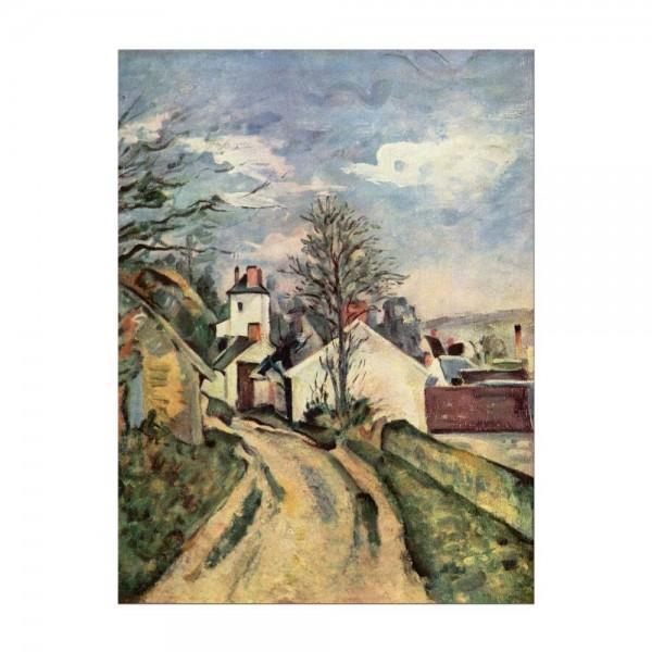 Leinwandbild - Paul Cézanne - Das Haus von Dr. Gachet