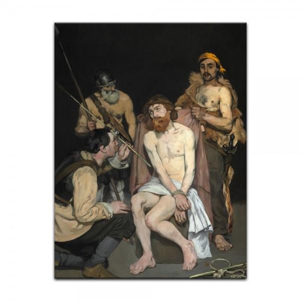 Leinwandbild - Édouard Manet - Verspottung Christi