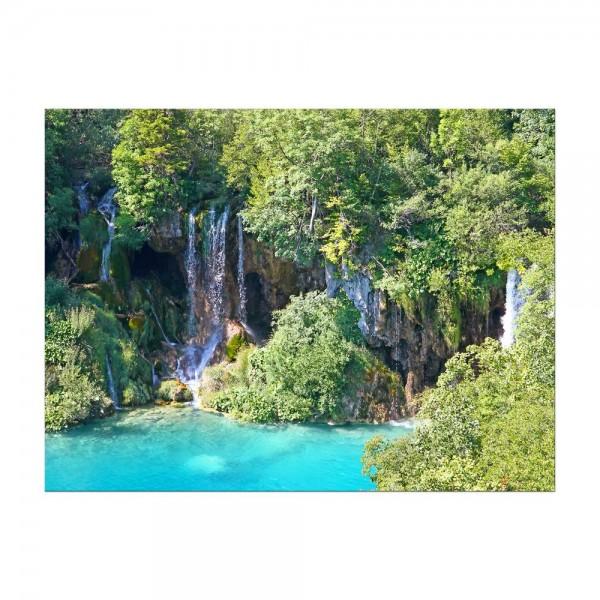 Leinwandbild - Plitvicer Seen I - Kroatien