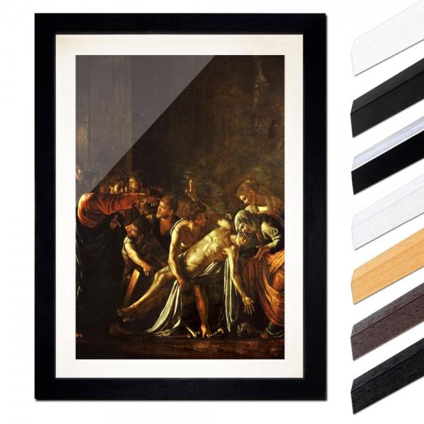 Caravaggio - Auferweckung des Lazarus