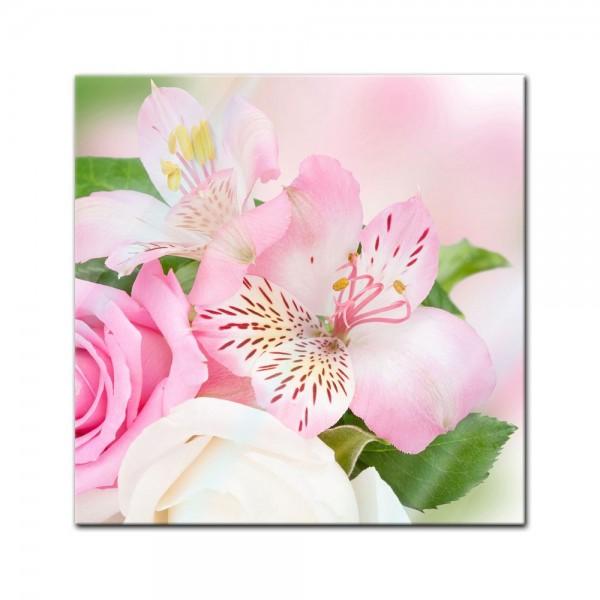 Glasbild - Orchidee V