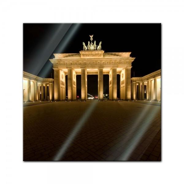 Glasbild - Brandenburger Tor - Berlin