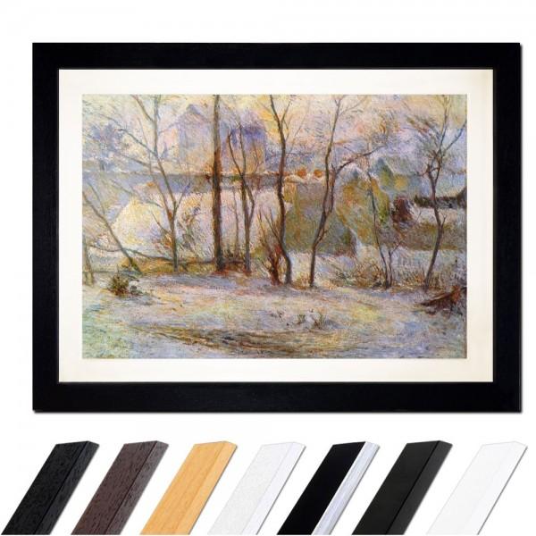 Paul Gauguin - Garten im Schnee