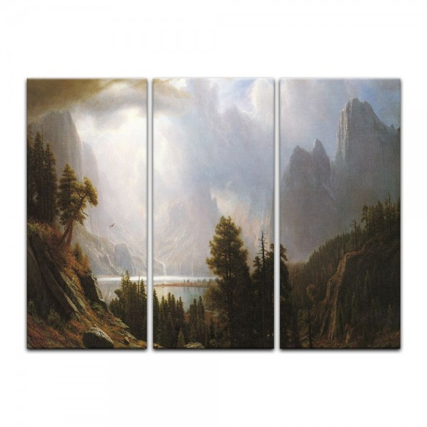 Leinwandbild - Albert Bierstadt - Landscape