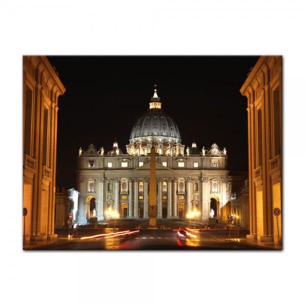 Leinwandbild - Vatikanstadt - Rom