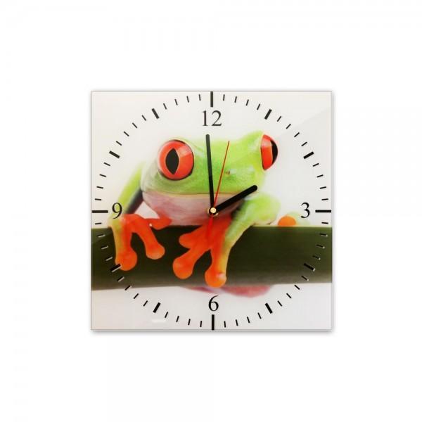 Glasuhr - Frosch - 300