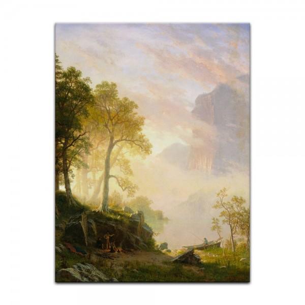 Leinwandbild - Albert Bierstadt - The Merced River in Yosemite