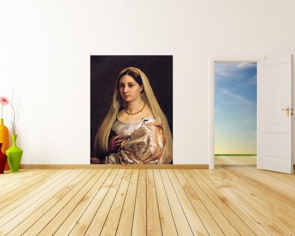 Fototapete Raffael - Alte Meister - La Donna Velata