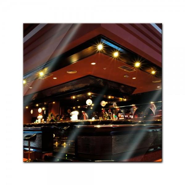 Glasbild - Bar