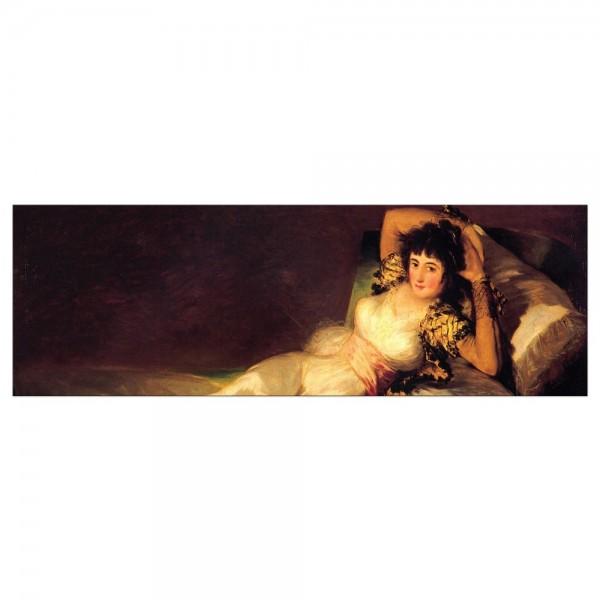 Leinwandbild - Francisco de Goya - Die bekleidete Maja