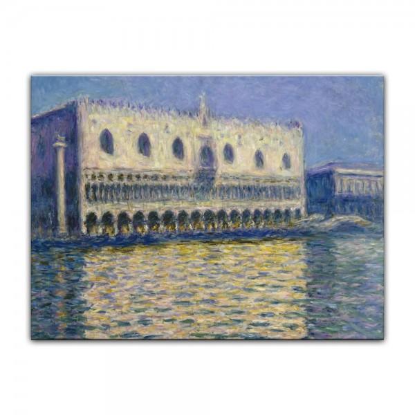 Leinwandbild - Claude Monet - Der Dogenpalast