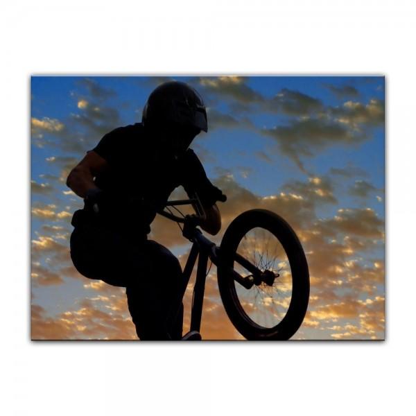 Leinwandbild - Airborne Bike