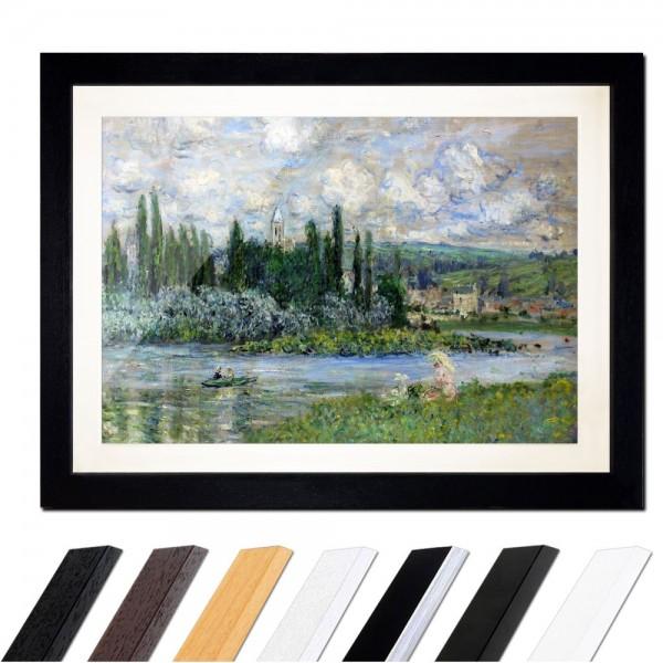 Claude Monet - Ansicht von Vétheuil sur Seine