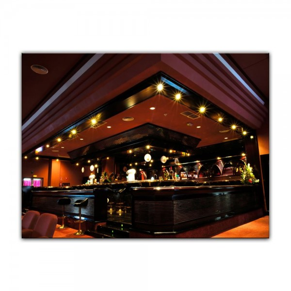 Leinwandbild - Bar