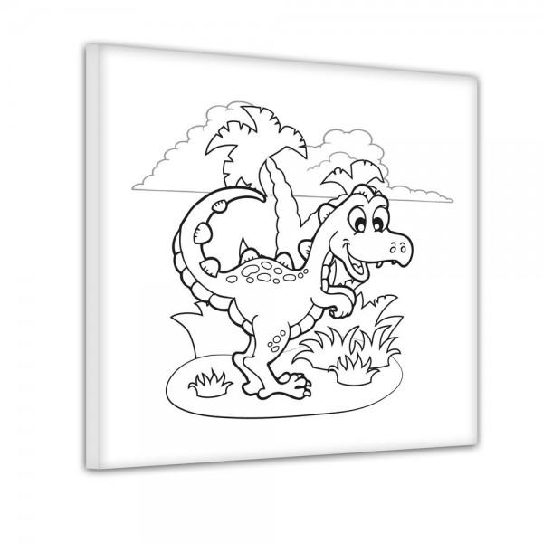 T-Rex Dinosaurier - Ausmalbild