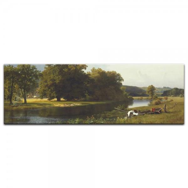 Leinwandbild - Albert Bierstadt - Westphalia