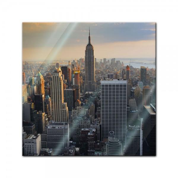 Glasbild - New York City II