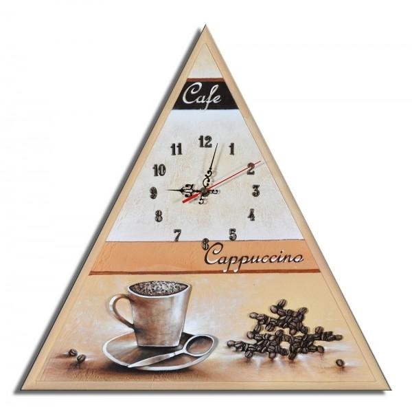 Wanduhr Kaffee 50x50cm F 58