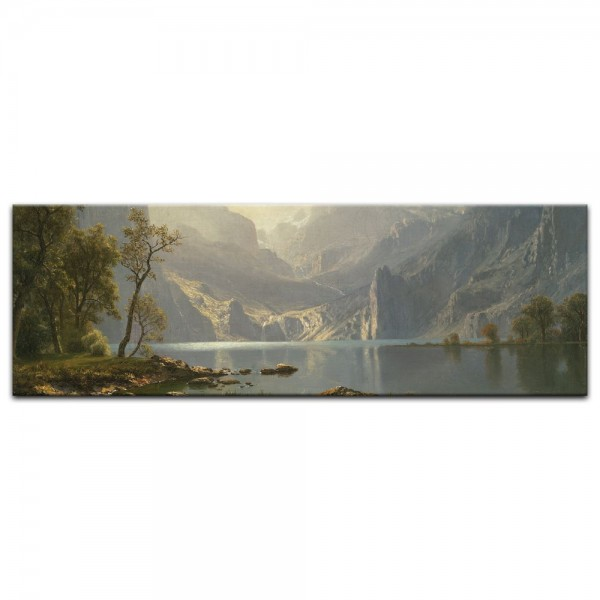 Leinwandbild - Albert Bierstadt - Lake Tahoe