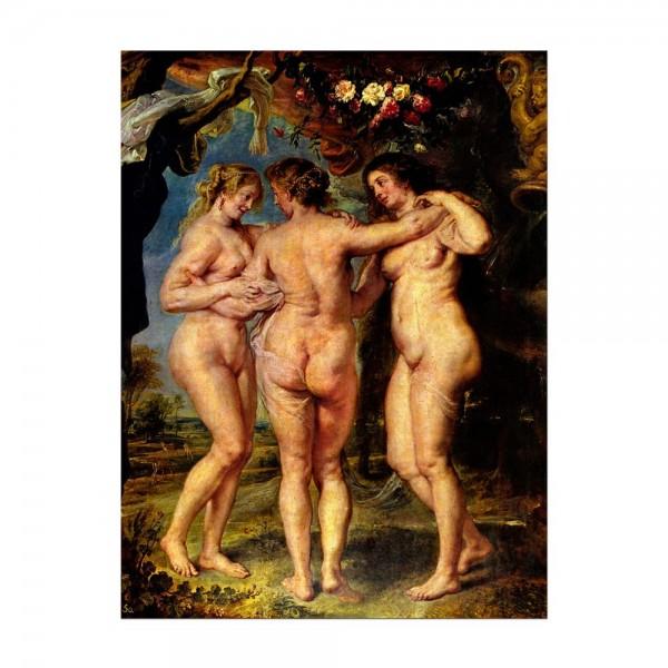 Leinwandbild - Peter Paul Rubens - Die drei Grazien