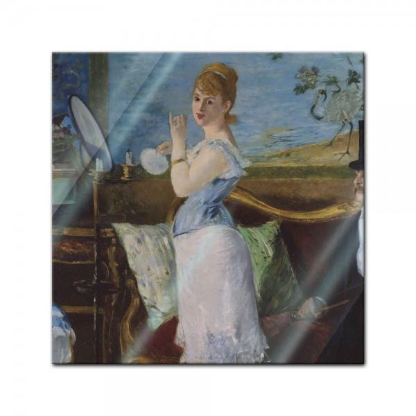 Glasbild Edouard Manet - Alte Meister - Nana