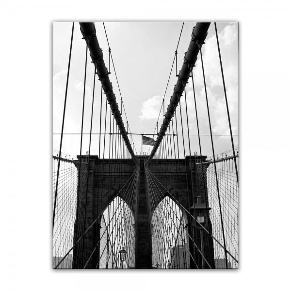 Leinwandbild - New York Bridge I