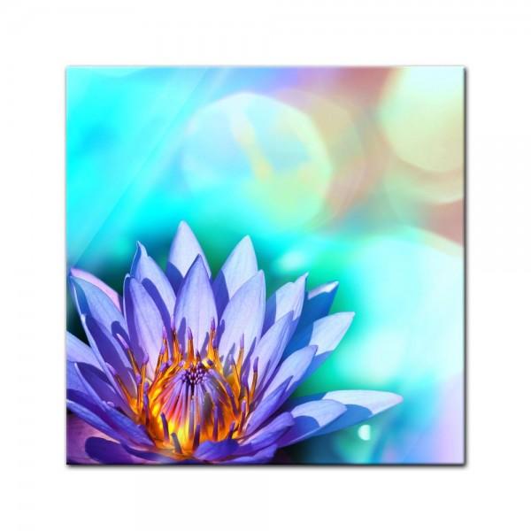Glasbild - Lotusblüte II