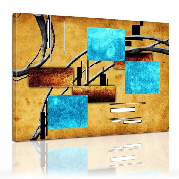 Leinwandbild - Modern Art II - Formen und Linien