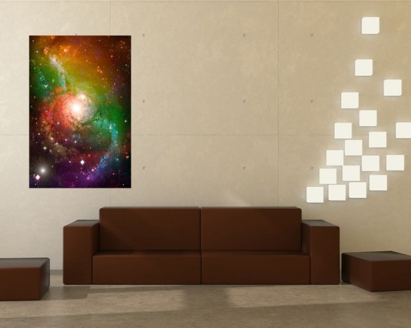 Fototapete Spiral Galaxie