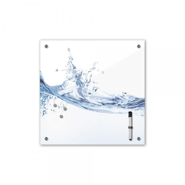 Memoboard - Geist & Seele - Wasser - 40x40 cm