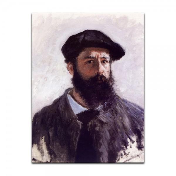 Leinwandbild - Claude Monet - Selbstportrait